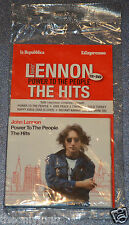 John Lennon - Power to the People (The Hits, 2010) CD DVD Italian Kiosk Copy