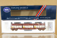 NMJ TOPLINE MODELS 505.201 NSB NY TYPE WOOD FINSAM FLISCONTAINER WAGON 229-3 ni