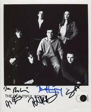 The Beautiful South (Band) Signed 8 x 10 Photo Genuine In Person