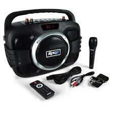 NEW Pyle PWMA245BT 150W Bluetooth BoomBox Mic & Speaker Recording MP3/USB/FM