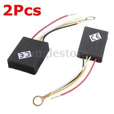 2Pc 110V 3Way Light Touch Sensor Switch Control for Lamp Desk Bulb Dimmer Repair