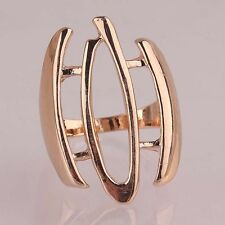 1 Pc New Woman/ Man Environmental 14k Gold Filled Vogue Ring Jewelry US Size9.5