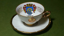 Vintage Bareuther Porcelain Waldsassen Bavaria Germany - Cappel Cup and Saucer