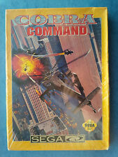 COBRA COMMAND SEGA CD 1992 RARE SEALED NIB ACTUAL PICTURES