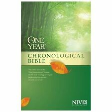 The One Year Chronological Bible NIV (2013, Paperback) (FREE 2DAY SHIP)