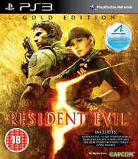 Resident Evil 5: Gold Edition PS3 Juego * En Excelente Estado *