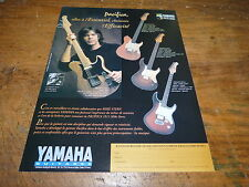 MIKE  STERN - YAMAHA GUITARS!!!!!!!!!PUBLICITE / ADVERT