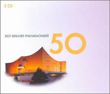 BERLIN PHILHARMONIC - Best 50 (classical collection) 3 CD SET [B38]