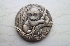 China 2016 Brass Medal - Giant Panda and Tiger