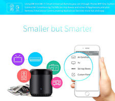 RM Mini 3 Negro Bean Smart Home Control Remoto Universal Inteligente IR WIFI