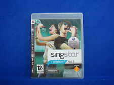 ps3 SINGSTAR VOL. 3 + Singstore Game Volume 3 SINGING Playstation PAL