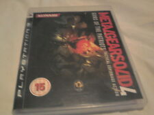 PLAY STATION 3 GAME METALGEARSOLID 4