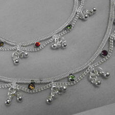 Silver Plated Baby Girl Child /Children / Kids bracelet anklet (payal)