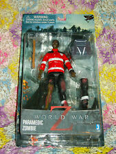 World War Z 6-Inch Paramedic Zombie Action Figure - NEW!