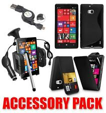 7 X ACCESSORY BUNDLE KIT FOR NOKIA LUMIA 720 + CASE CAR HOLDER CHARGER