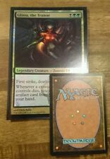 1x GLISSA, THE TRAITOR - Commander's Arsenal - OVERSIZED -  FOIL