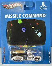 "NEW Hot WHEELS Missile Command Atari Metal Custom 2012 Real Riders 3"" COLLECT"