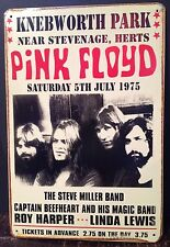 Pink Floyd Vintage Retro Tin Metal Sign Plaque Home Decor Studio Pub Garage Room