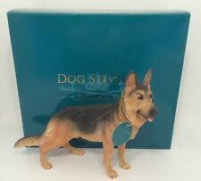 Leonardo Collection Alsation German Shepherd Dog Ornament Figure Figurine Bnib