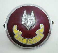 1960's UK / BRITISH SCOUTS - WOLF SCOUT ASSISTANT CUBMASTER (ACM) Metal Plume