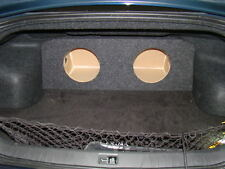 "ZEnclosures 2-10"" Subwoofer Sub Speaker Box for the 2009-2014 Nissan Maxima"