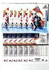 1X JOHN VANBIESBROUCK 1997-1998 Pinnacle JUMBO PROMO #13 Bulk Lot Avail Oversize