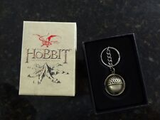 Noble Collection HOBBIT ACORN BUTTON KEY CHAIN Bilbo Baggins Lord of Rings
