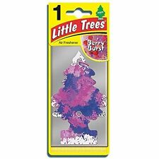 Magic Tree LITTLE TREE HANGING Air Freshener Freshner Car Home - BERRY BURST