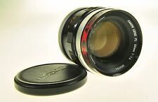 Canon Lens FL 50mm F1.4 Camera Lens #268394