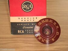 RARE Vintage RCA 101145-B TV CHANNEL SELECTOR  KNOB UHF Genuine Replacement-NOS