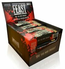 WARRIOR FEAST HIGH PROTEIN FLAPJACK BAR x 1 TASTY MEAL REPLACEMENT (Choc Orange)