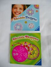 Mandala-Designer Ravenburger Trial Size Stencil with Hearts and Ladybugs New