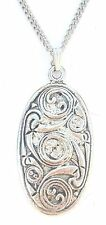 Celtic Shield Pendant Handcrafted in Solid Pewter In The UK + Free Gift Box PN19