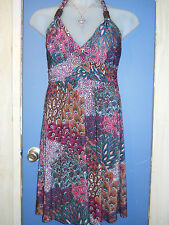 NWT STretcHY Sundress Sun Dress Women's Size S Small 1 2 3 4 New Summer Clothes