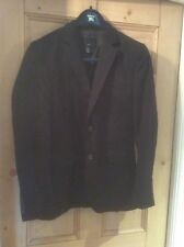 H&M Black Smart Suit Jacket 36""