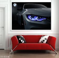 BMW POSTER 01 M Power M4 Sport Car BEST QUALITY !!! Wall Art XXL 50x35'' Amazing