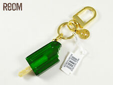 Tory Burch Fruit Pop Bag Charm Key Fob Keychain Green