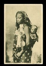 East Africa Kenya Swahili Woman & Baby PPC used 1921 pub East Africa Standard