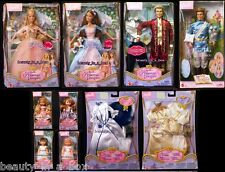 Anneliese Erika Barbie Doll Kelly Princess and the Pauper King Wedding Fashion V