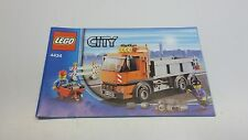 LEGO CITY !! INSTRUCTIONS ONLY !! FOR 4434 TIPPER TRUCK