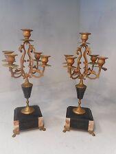 Paire de antique candélabres ref 1924