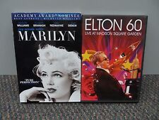 Set of 2 DVD's - My Week with Marilyn & Elton 60 - Live at Madison Square Garden