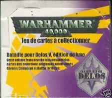 * WARHAMMER 40000 40 BOOSTERS  EDITION DE BASE