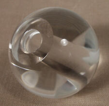 """(5) 30 mm (1 3/4"""") Clear Crystal Ball Chandelier Lamp Parts"""