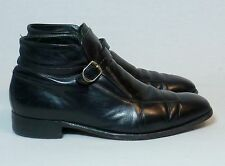 Vintage Florsheim Imperial Leather Buckle Harness Hipster Chukka Boot Mens 9.5 E