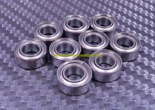 [QTY 10] SMR138zz MR138zz (8x13x4 mm) 440C Stainless Steel Ball Bearing Bearings