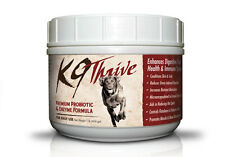 K9 Thrive Probiotic & Enzyme Digestion Aid Powder for all ages and all size Dogs