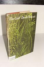 The Gulf by Derek Walcott 1969 Jonathan Cape Hardcover UK 1st 1st