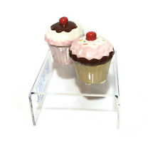 Ceramic Mini Cupcake Trinket Box Christmas Gift