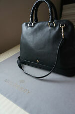 Mulberry Pembridge Double Handle Bag in Black soft grain Leather